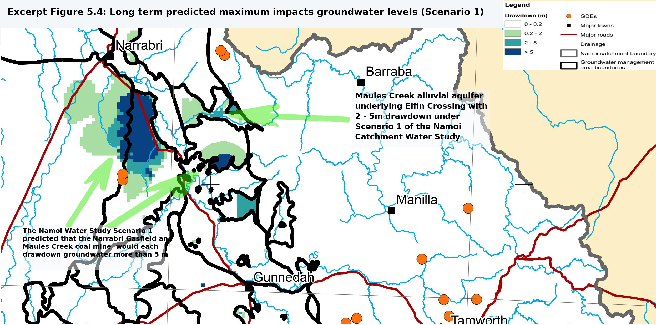 Predictions of the Namoi Catchment Water Study – will they come to pass?